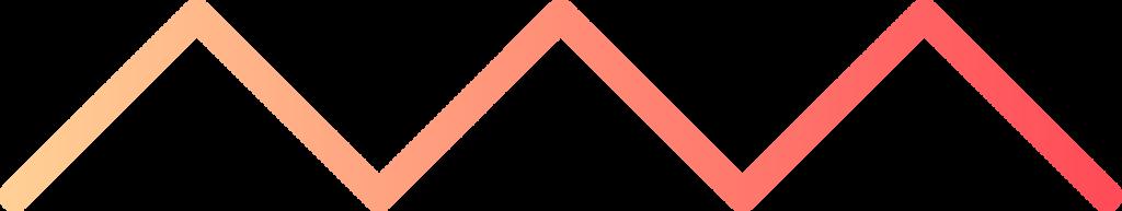 horizontal zig zag