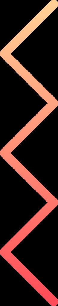 vertical zig zag