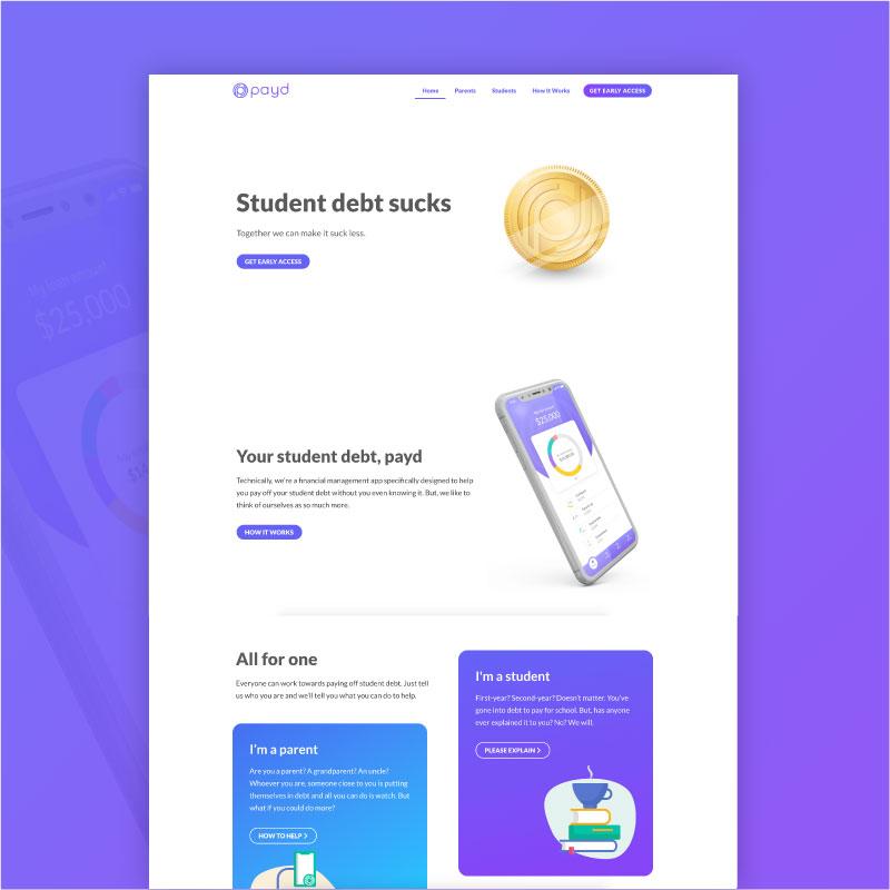payd website